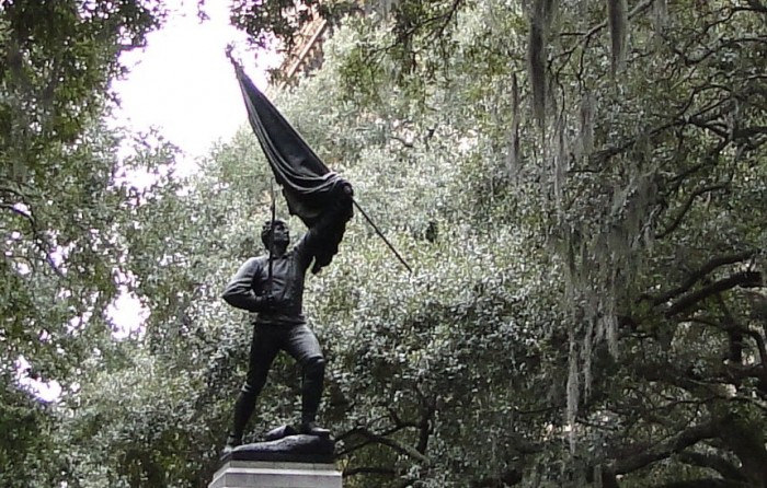 Seargant William Jasper statue - Madison Square, Savanna Georgia, 2013. Photo: Greg Foster