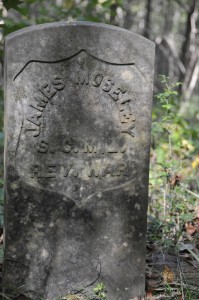 Headstone Reads: James Moseley S.C. Mil. Rev. War